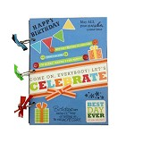 BUKU UNIK Celebrate [CBB-128] - Scrapbook and Patchwork